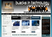 Blacks In Technology Website Template - Blacks In Technology Website Template